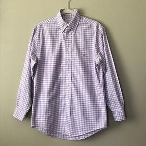 Brooks Brothers Madison Fit Checkered Button Down